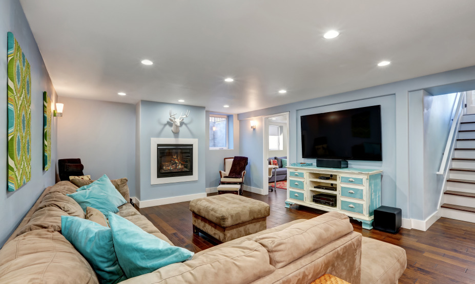 Can a basement be transformed into a living space?
