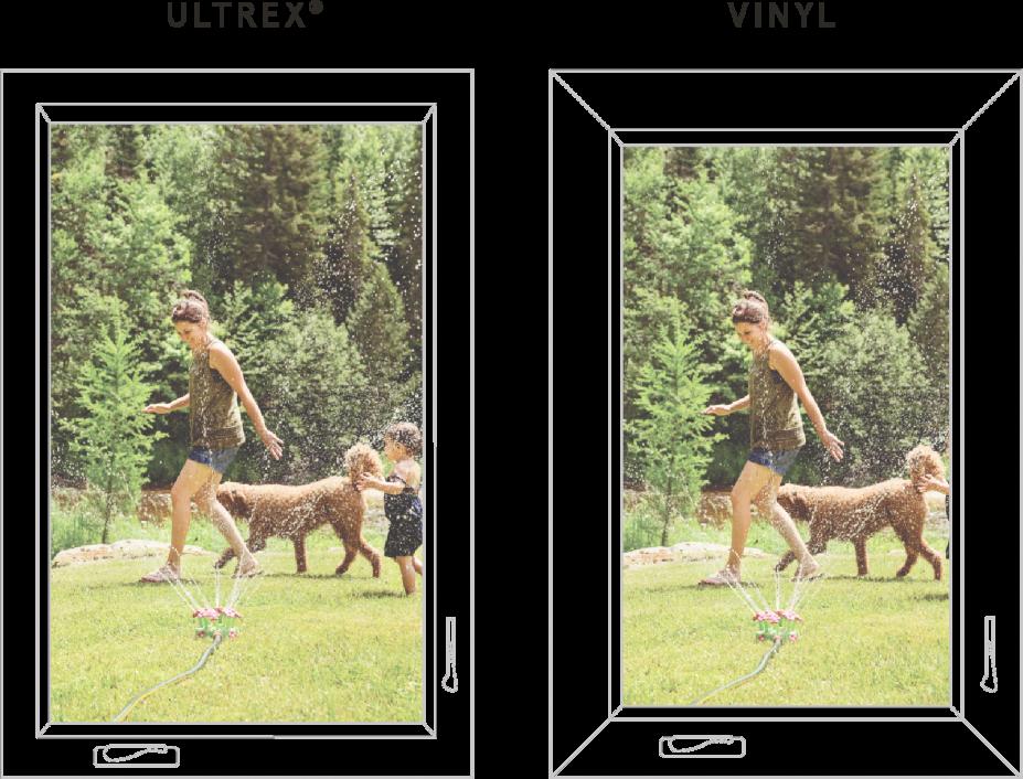 Ultrex Fiberglass vs. Vinyl