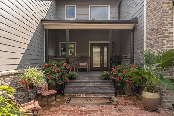 Porch & Rear Patio