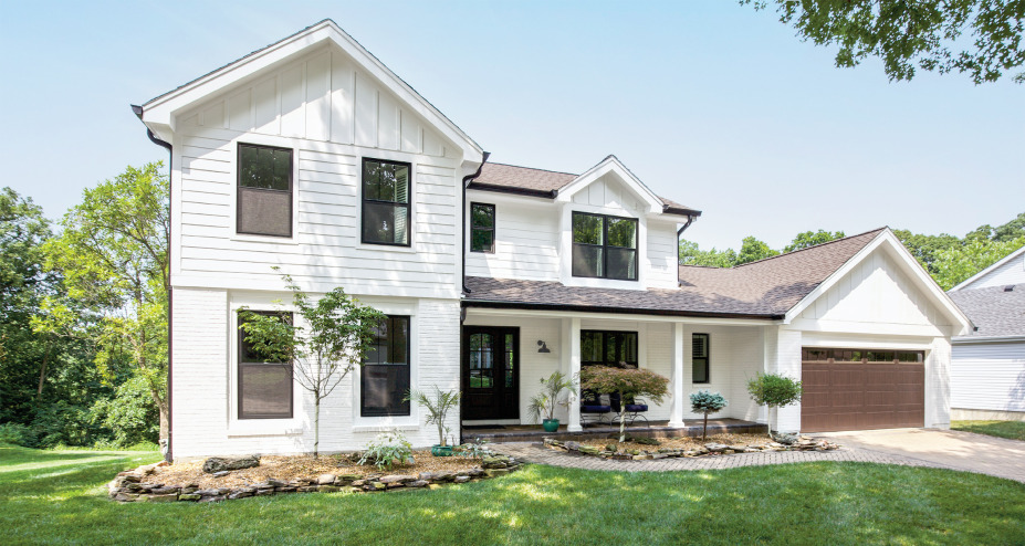 Ellisville Home Comes to Life with an Exterior Renovation