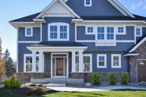 3 styles of James Hardie Siding