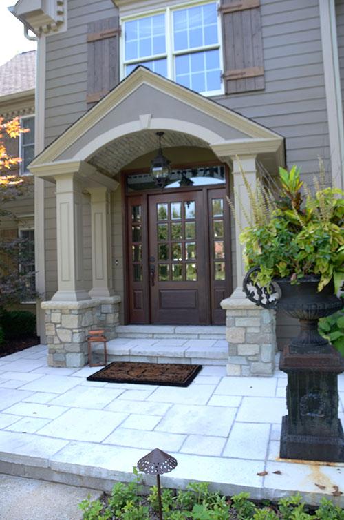 Porch & Entry Door - After