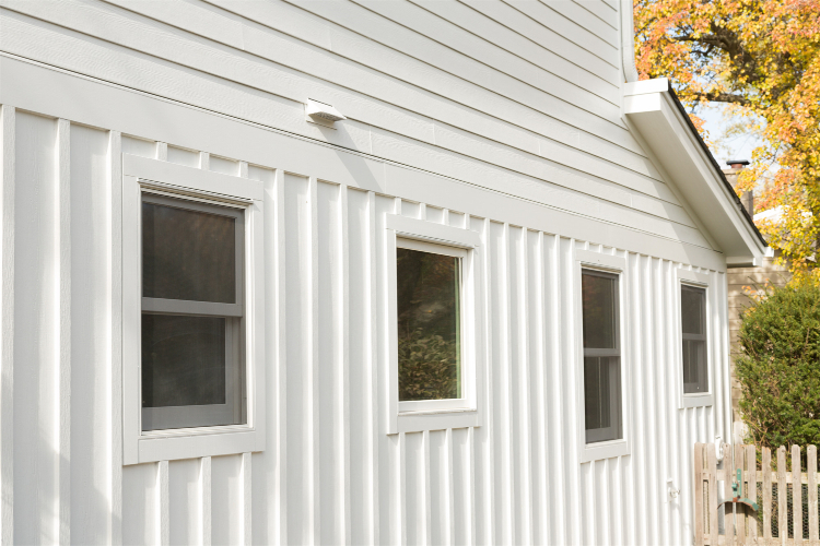 James Hardie Vertical Siding