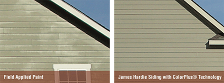 James Hardie Color Integrity