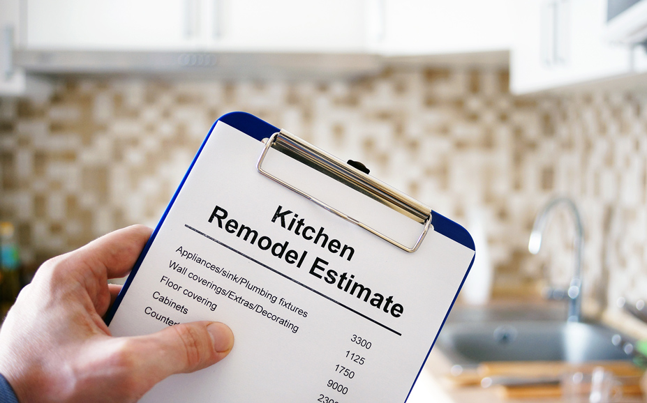 The cost of a kitchen remodel