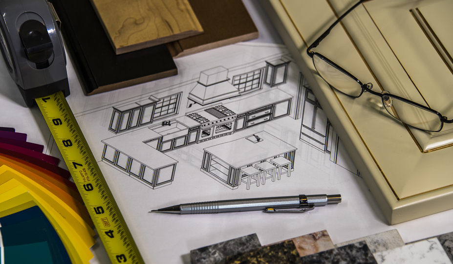 The steps of a kitchen remodel